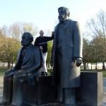 Marx-Engels Monument, Berlin.