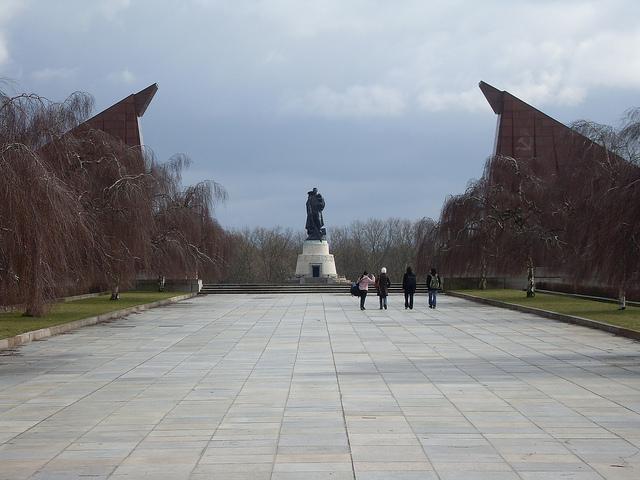 Soviet Memorial, Treptow, Berlin